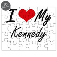 I Love My Kennedy Puzzle