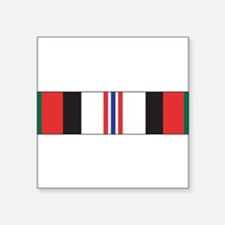 "Cute Afghanistan Square Sticker 3"" x 3"""