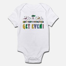 New Year Resolution Infant Bodysuit