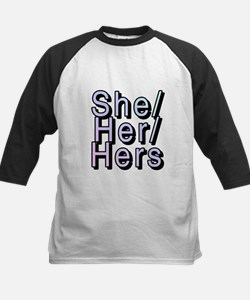 She/Her/Hers Baseball Jersey
