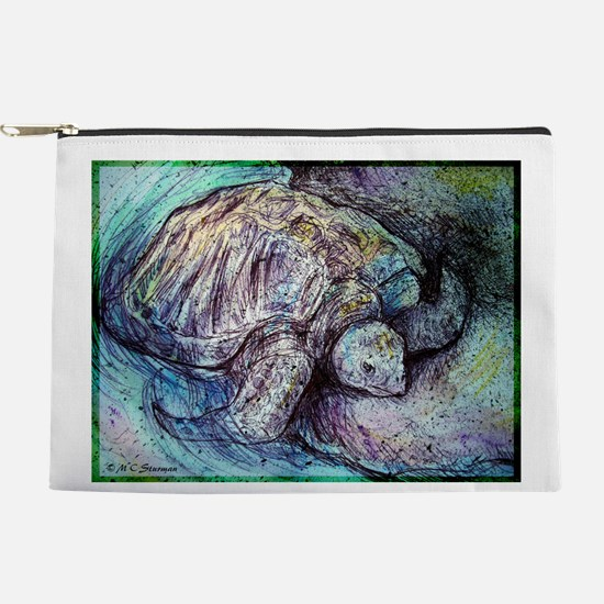 Sea Turtle! Wildlife art! Makeup Bag