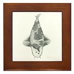 B&W Ochiba Framed Tile