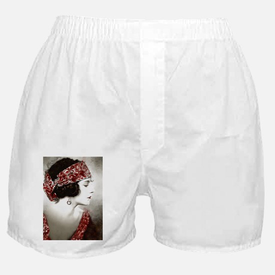 Beautiful Gypsy Girl Art Boxer Shorts