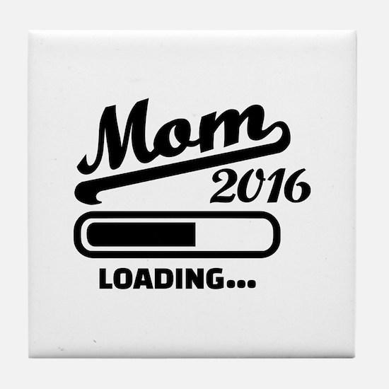 Mom 2016 Tile Coaster