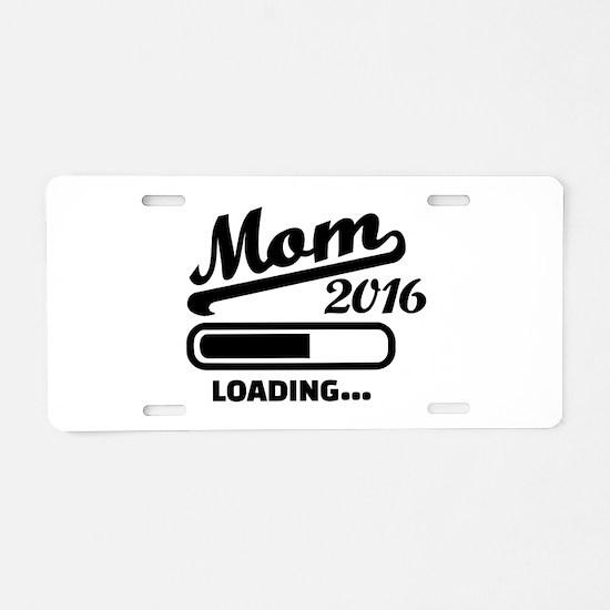 Mom 2016 Aluminum License Plate