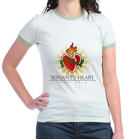 Servant's Heart Jr. Ringer T-Shirt