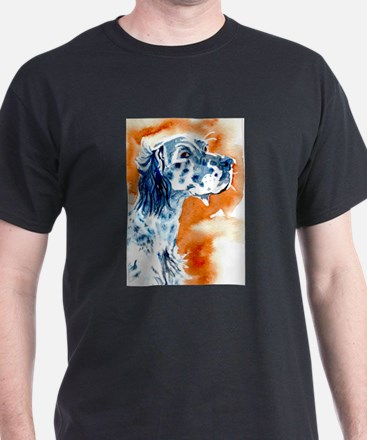 English Setter White T-Shirt