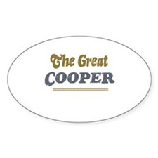 Cooper Oval Decal