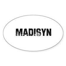 Madisyn Oval Decal