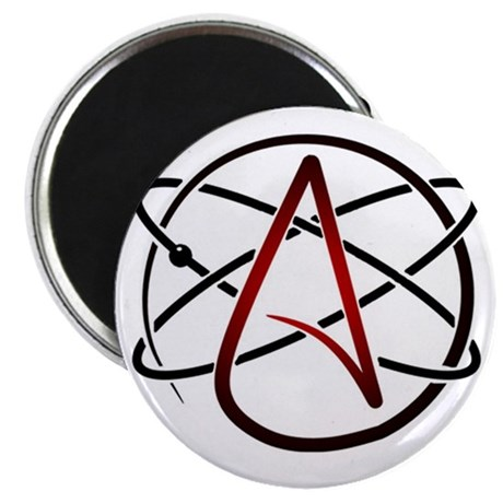 Modern Atheist Atomic Color Magnets
