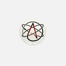 Modern Atheist Atomic Color Mini Button (10 pack)