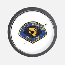 Las Vegas City Police Wall Clock