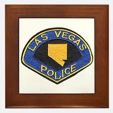 Las Vegas City Police Framed Tile