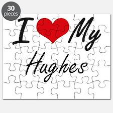 I Love My Hughes Puzzle