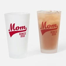 Mom 2016 Drinking Glass