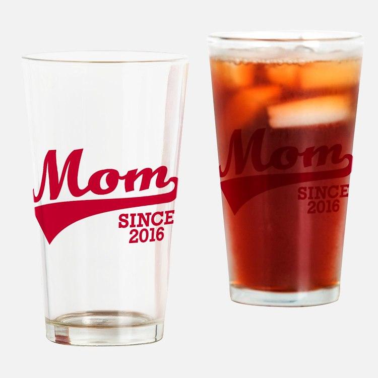 Mom 2016 Drinking Glass