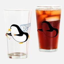 Penguin Cupid Drinking Glass