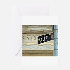 Wall Street! Greeting Cards