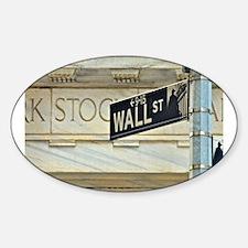 Wall Street! Decal