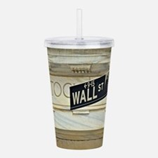 Wall Street! Acrylic Double-wall Tumbler
