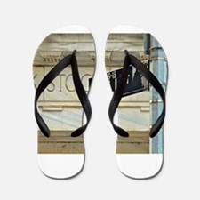 Wall Street! Flip Flops