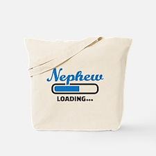 Nephew loading Tote Bag