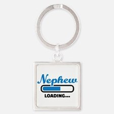 Nephew loading Square Keychain