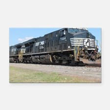 Cute Norfolk southern Rectangle Car Magnet
