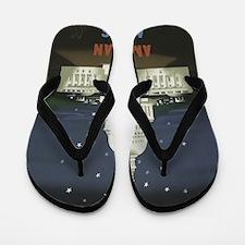 Cute Washington d.c. Flip Flops