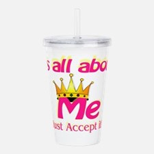 allmeAcceptit.png Acrylic Double-wall Tumbler