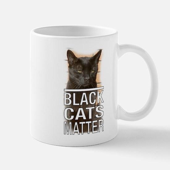 Black Cats Matter Mugs