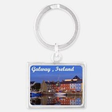 Cute Reflections Landscape Keychain