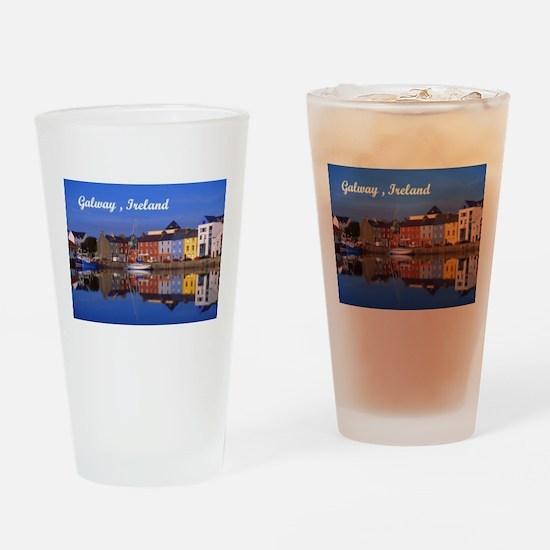 Galway Ireland Drinking Glass