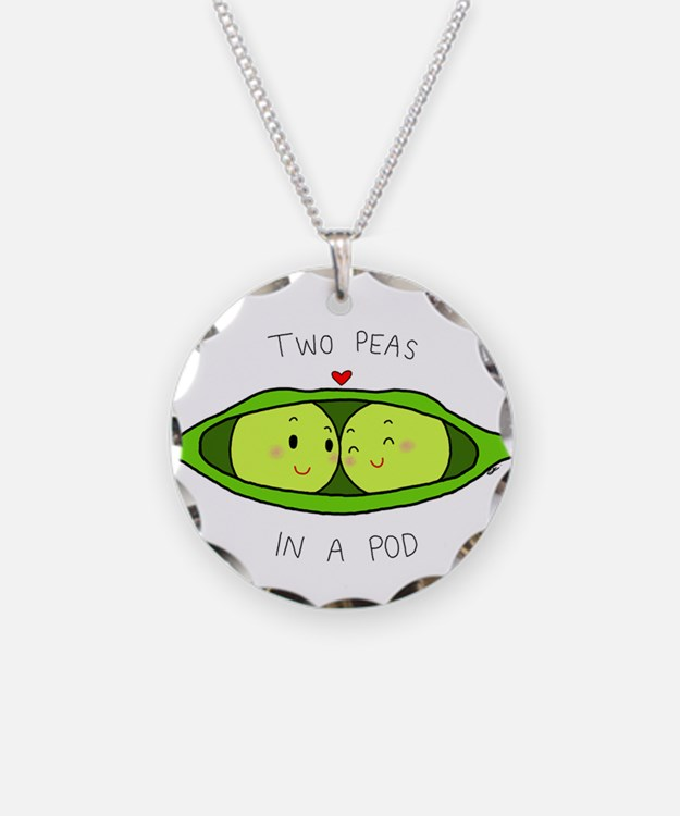 Two Peas In A Pod Necklaces Two Peas In A Pod Dog Tags
