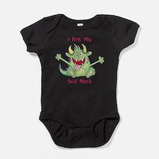 Cute Little valentine Baby Bodysuit