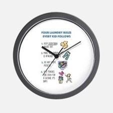 Funny Funny kids Wall Clock