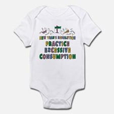 Funny New Year's Resolution Infant Bodysuit