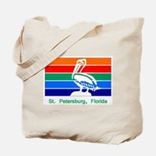 St. Petersburg FL Flag Tote Bag