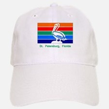 St. Petersburg FL Flag Baseball Baseball Cap