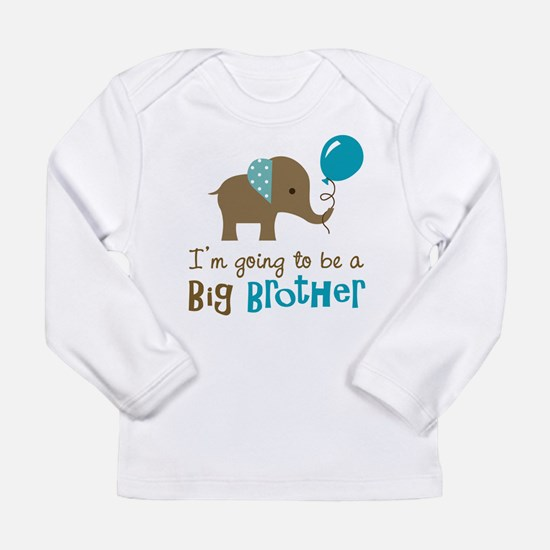 Unique I%27m going to be a big brother Long Sleeve Infant T-Shirt