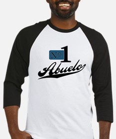 Number One Abuelo Baseball Jersey