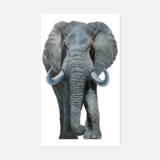 Unique Serengeti Sticker (Rectangle)