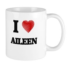 I Love Aileen Mugs