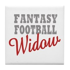Fantasy Football Widow Tile Coaster