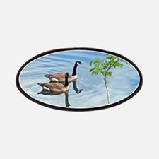Swimming Geese Patch