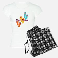 Personalized Flip Flops Pajamas