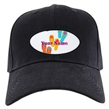 Personalized Flip Flops Baseball Hat