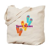 Personalized vacation Canvas Tote Bag