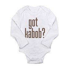 Unique Kabob Long Sleeve Infant Bodysuit