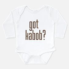 Cute Persian Long Sleeve Infant Bodysuit